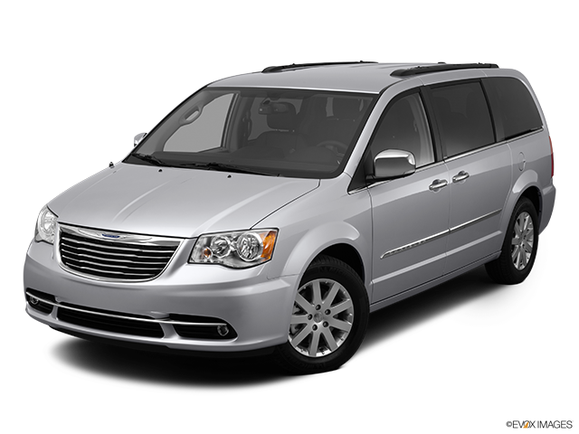 2012 Chrysler Town and Country Front angle view