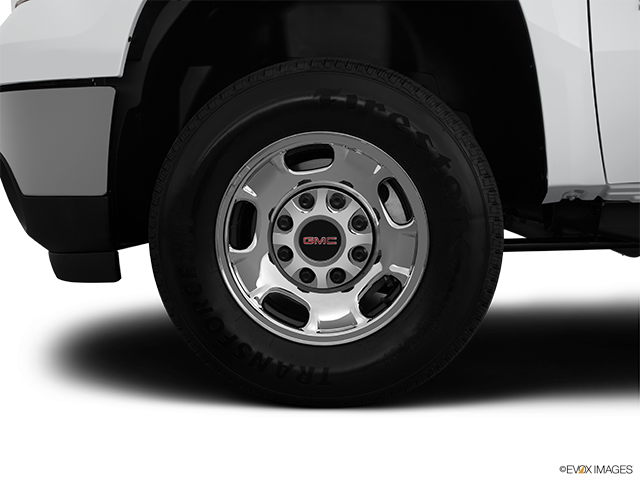 2012 GMC Sierra 2500HD Front Drivers side wheel at profile