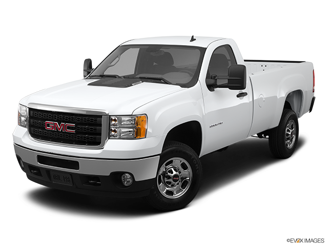 2012 GMC Sierra 2500HD Front angle view