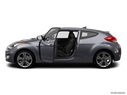 2012 Hyundai Veloster Driver's side profile with drivers side door open