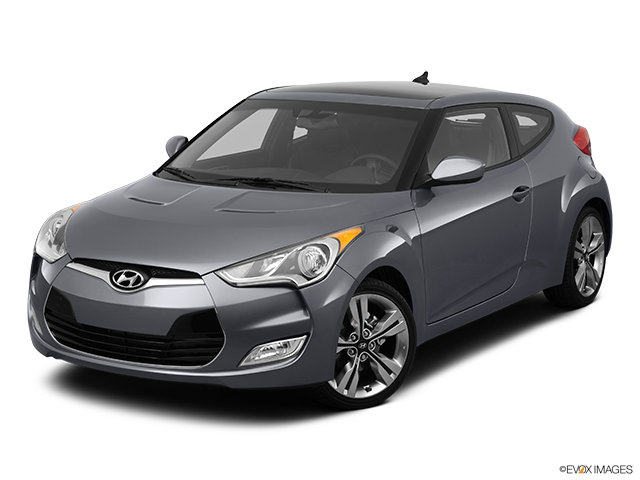 2012 Hyundai Veloster Front angle view