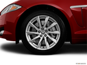 2012 Jaguar XF Front Drivers side wheel at profile