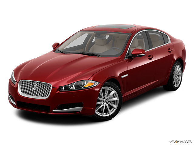 2012 Jaguar XF Front angle view