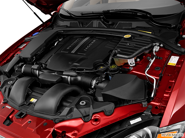 2012 Jaguar XF Engine