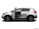 2012 Kia Sportage Driver's side profile with drivers side door open