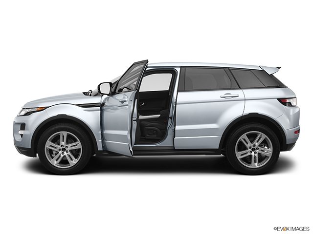 2012 Land Rover Range Rover Evoque Driver's side profile with drivers side door open
