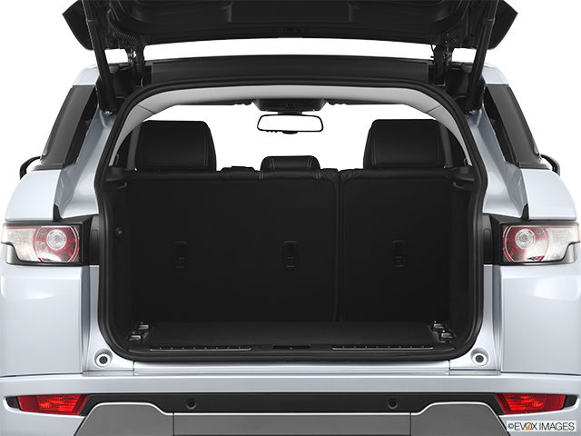 2012 Land Rover Range Rover Evoque Trunk open