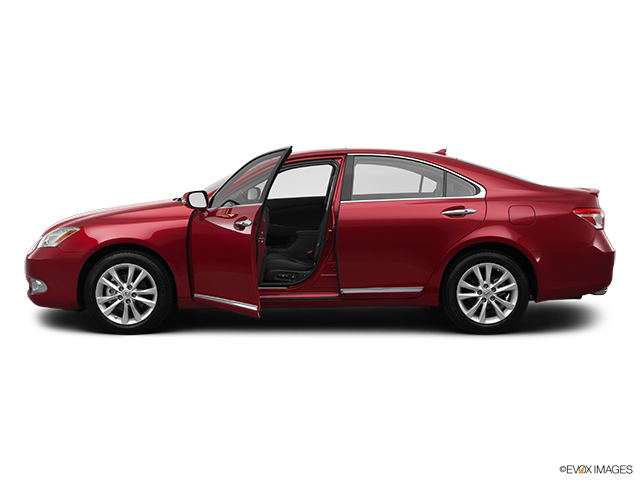 2012 Lexus ES 350 Driver's side profile with drivers side door open