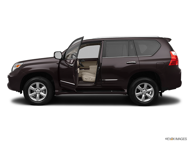 2012 Lexus GX 460 Driver's side profile with drivers side door open