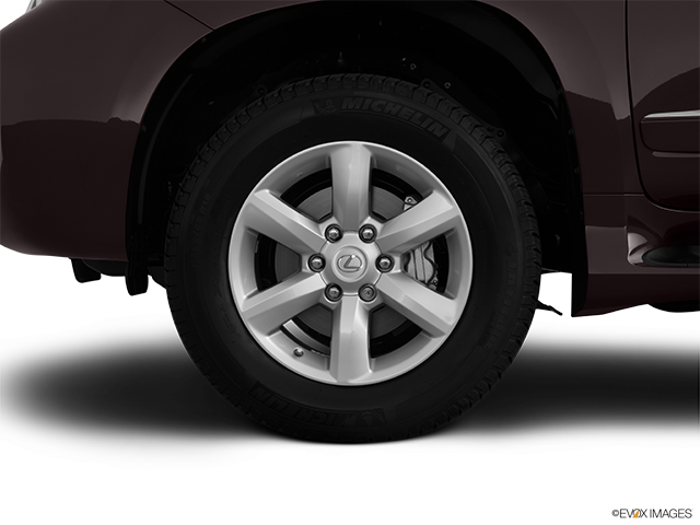 2012 Lexus GX 460 Front Drivers side wheel at profile