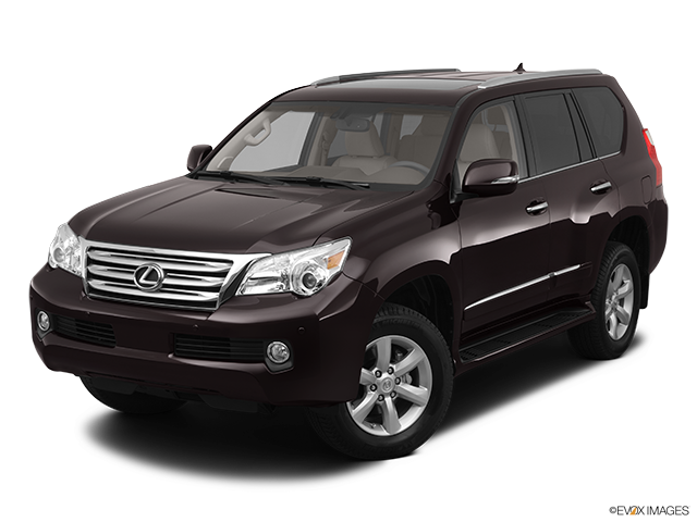 2012 Lexus GX 460 Front angle view