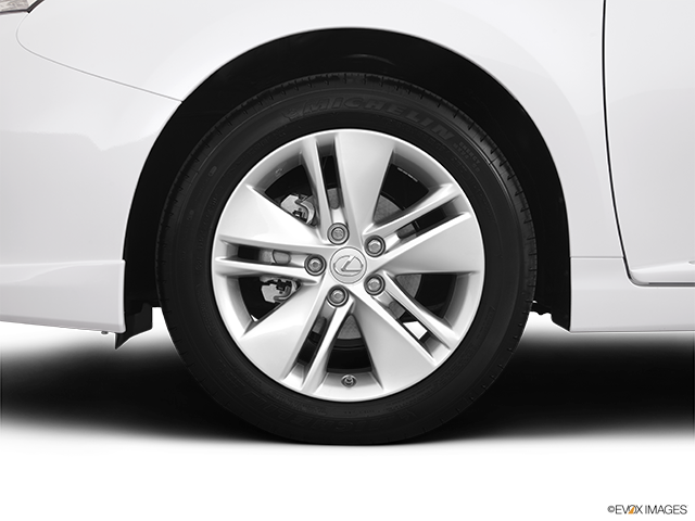 2012 Lexus HS 250h Front Drivers side wheel at profile