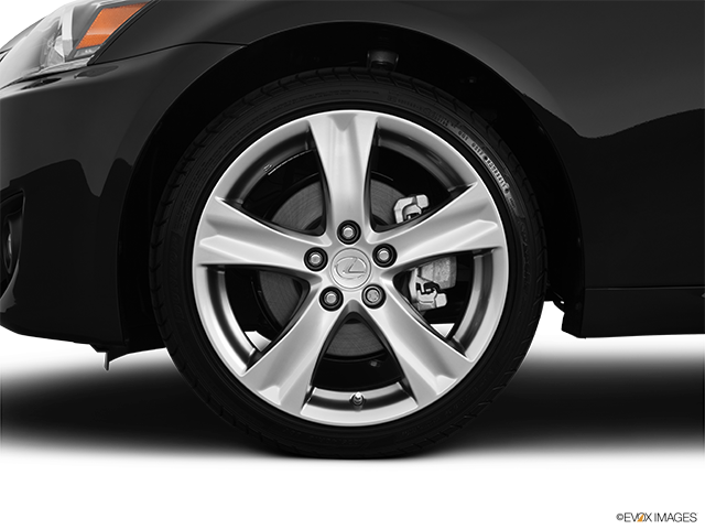 2012 Lexus IS 250 Front Drivers side wheel at profile