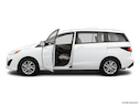 2012 Mazda Mazda5 Driver's side profile with drivers side door open