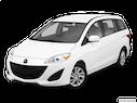 2012 Mazda Mazda5 Front angle view