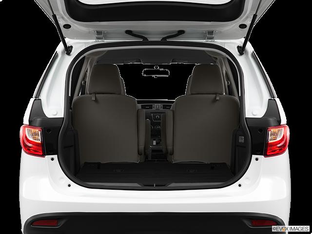2012 Mazda Mazda5 Trunk open