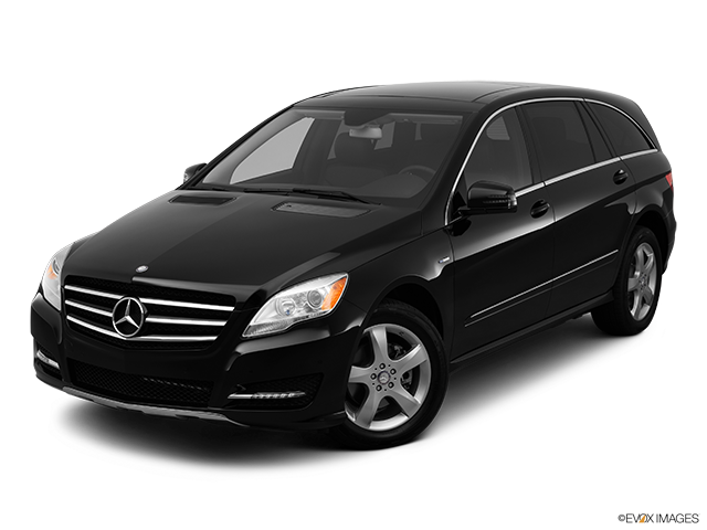 2012 Mercedes-Benz R-Class Front angle view