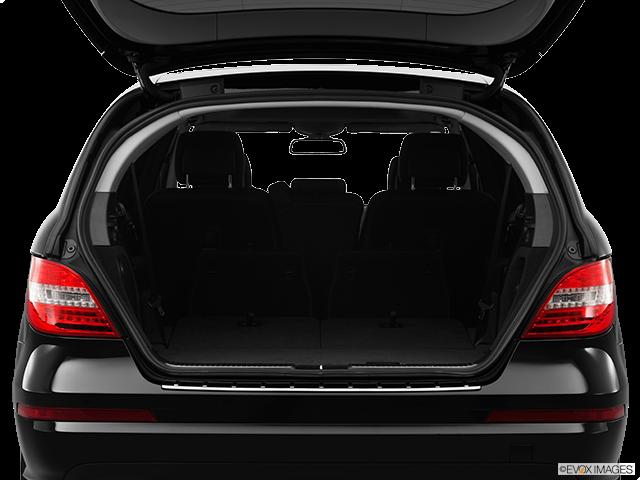 2012 Mercedes-Benz R-Class Trunk open