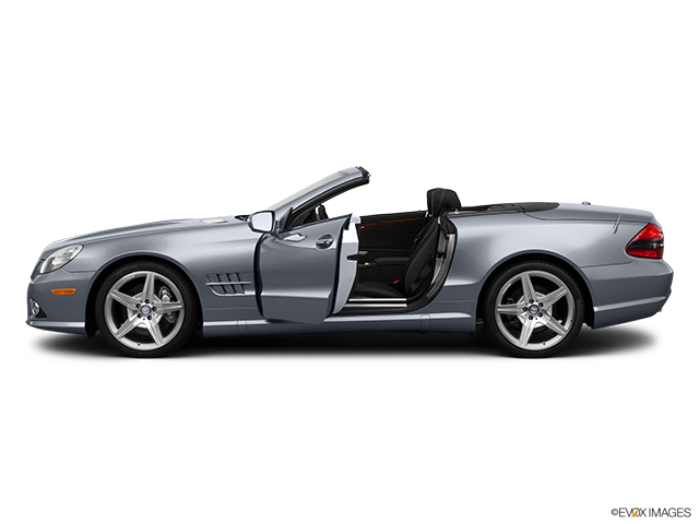 2012 Mercedes-Benz SL-Class Driver's side profile with drivers side door open