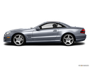 2012 Mercedes-Benz SL-Class Drivers side profile, convertible top up (convertibles only)