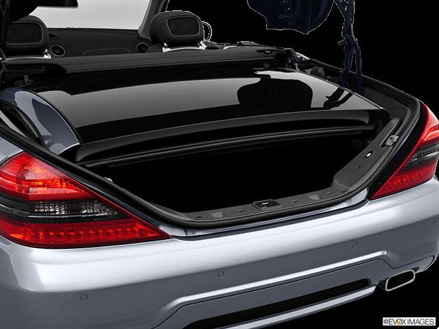 2012 Mercedes-Benz SL-Class Trunk open