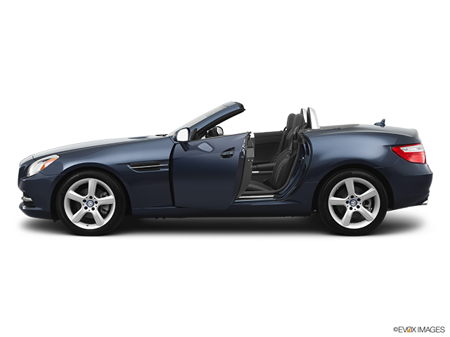 2012 Mercedes-Benz SLK Driver's side profile with drivers side door open