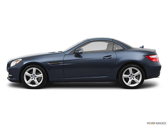 2012 Mercedes-Benz SLK Drivers side profile, convertible top up (convertibles only)
