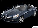 2012 Mercedes-Benz SLK Front angle view
