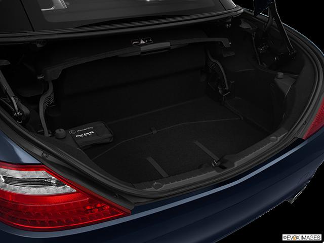 2012 Mercedes-Benz SLK Trunk open