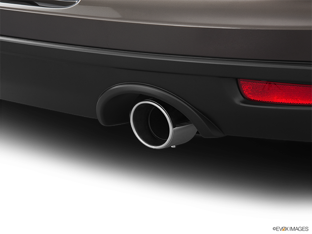 2012 Mitsubishi Eclipse Chrome tip exhaust pipe