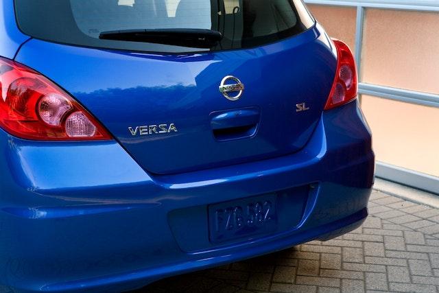 2012 Nissan Versa Exterior