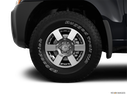2012 Nissan Xterra Front Drivers side wheel at profile