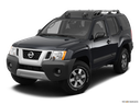 2012 Nissan Xterra Front angle view