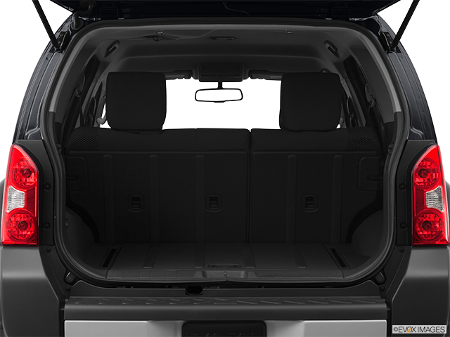 2012 Nissan Xterra Trunk open