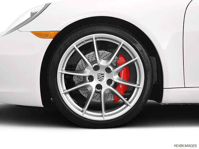 2012 Porsche 911 Front Drivers side wheel at profile
