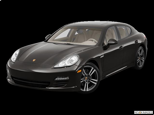 2012 Porsche Panamera Front angle view
