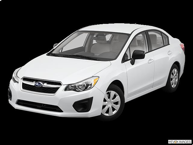 2012 Subaru Impreza Front angle view