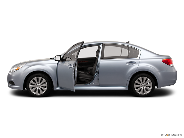 2012 Subaru Legacy Driver's side profile with drivers side door open