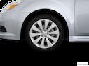 2012 Subaru Legacy Front Drivers side wheel at profile