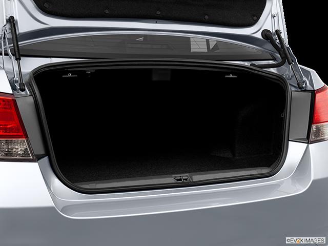 2012 Subaru Legacy Trunk open