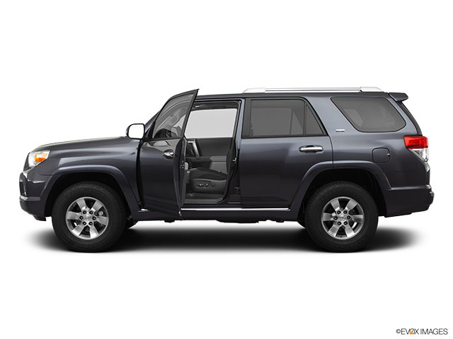 2012 Toyota 4Runner Driver's side profile with drivers side door open
