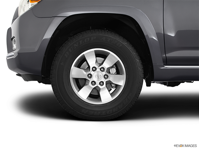 2012 Toyota 4Runner Front Drivers side wheel at profile