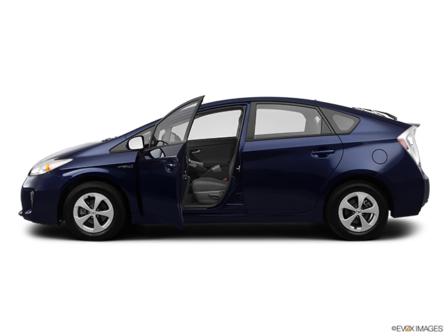 2012 Toyota Prius Driver's side profile with drivers side door open