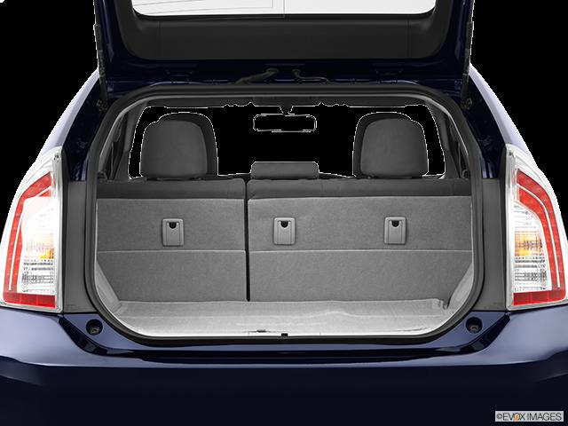 2012 Toyota Prius Trunk open