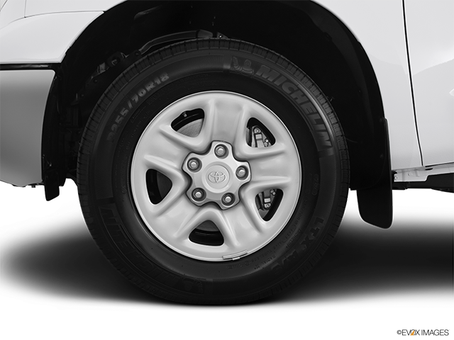 2012 Toyota Tundra Front Drivers side wheel at profile