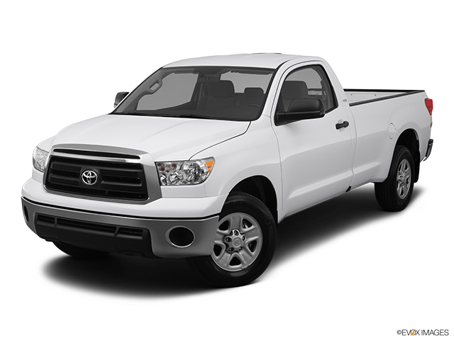 2012 Toyota Tundra Front angle view
