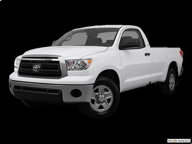 2012 Toyota Tundra Front angle medium view