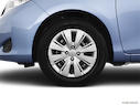 2012 Toyota Yaris Front Drivers side wheel at profile