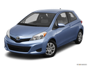 2012 Toyota Yaris Front angle view