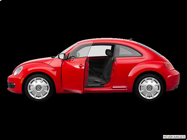 2012 Volkswagen Beetle Driver's side profile with drivers side door open